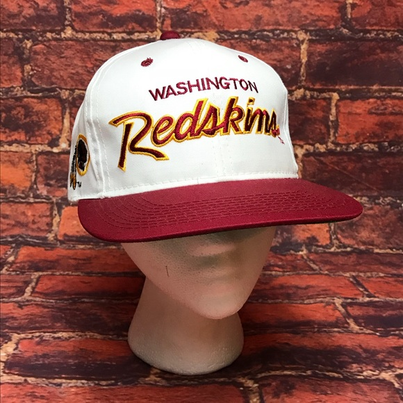 Vtg Washington Redskins Team NFL Snapback Hat 586dfe355